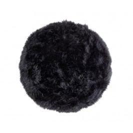 Koberec Gayle Round Black 70 cm