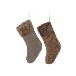 Sada 2 dekoračních ponožek Kyon