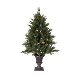 Umělý vánoční stromek s LED diodami do exteriéru Byske 120 cm
