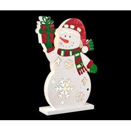 Světelná dekorace Snowman