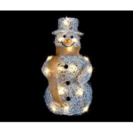 Světelná dekorace Jolly Snowman