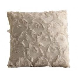 Dekorační polštář Fringe White 45x45 cm