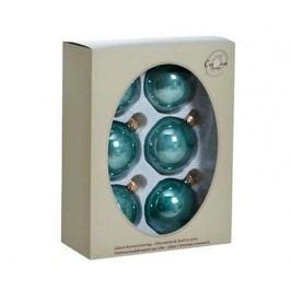 Sada 6 dekoračních koulí Eucaliptus Perle