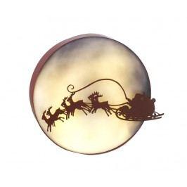 Světelná dekorace Santa Flying