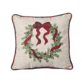 Dekorační polštář Green Wreath 34x34 cm