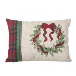 Dekorační polštář Green Wreath 33x45.5 cm