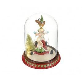 Světelná dekorace Santa's Scene