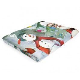Deka Santa & Snowman 160x220 cm
