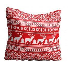 Dekorační polštář Reindeer Lace 43x43 cm