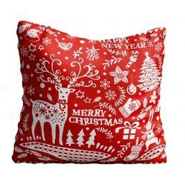 Dekorační polštář Christmas Swirls 43x43 cm