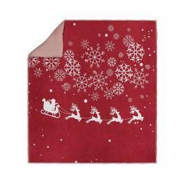 Deka Christmas Ride 160x220 cm