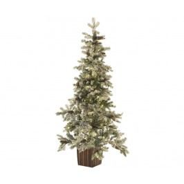 Umělý vánoční stromek s LED osvětlením v květináči Winter 120 cm