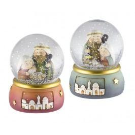 Sada 2 dekorací Nativity Snowball