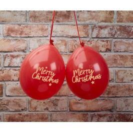 Sada 8 balónů Merry Christmas
