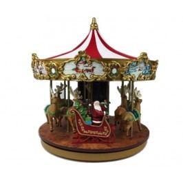 Světelná hudební dekorace Very Merry Carousel