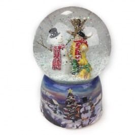 Hudební dekorace Snowman
