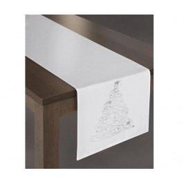Středový ubrus Carol Silver 40x140 cm