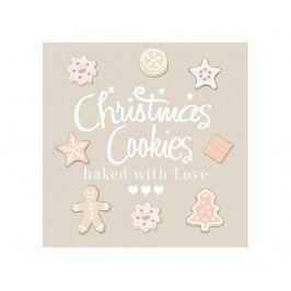 Sada 20 ubrousků Sweet Cookies
