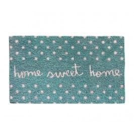 Rohožka Sweet Home Aqua 40x70 cm