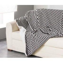 Pléd Sydney Black 125x150 cm