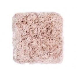 Polštář na sezení Fluffy Light Brown 40x40 cm