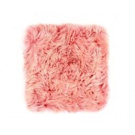 Polštář na sezení Fluffy Pink 40x40 cm