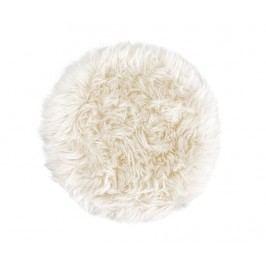 Polštář na sezení Fluffy White 35 cm