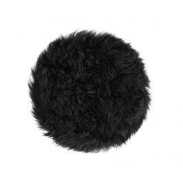 Polštář na sezení Fluffy Black 35 cm