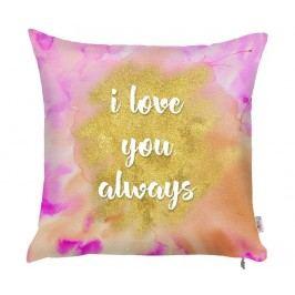 Povlak na polštář I Love You Always Colour 43x43 cm