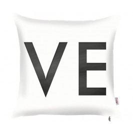 Povlak na polštář Love Complete You White 43x43 cm