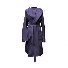 Dámský župan Waffel Short Capuchon  Vintage Purple XL