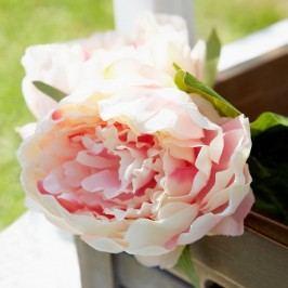 FLORISTA Pivoňka 70 cm - sv. růžová