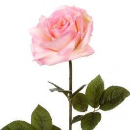 FLORISTA Růže 64 cm - sv. růžová