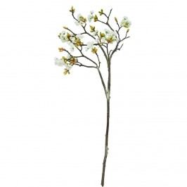 FLORISTA Větvička kvetoucí třešeň 30 cm - krémová