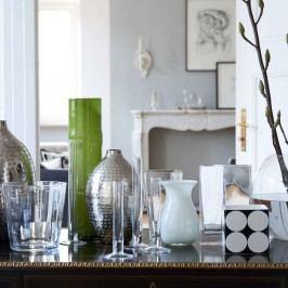BELLE Váza 18 cm - bílá