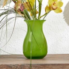 BELLE Váza 18 cm - zelená
