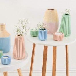 SPHERE Váza 18 cm - mátově zelená