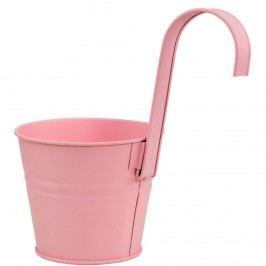 ZINC Květináč k zavěšení 13 cm - růžová