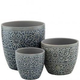 Obrázek BLOOMY Květináč 13,5 cm - černá Dekorativní vázy