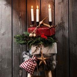 Obrázek RUSTIC Svíčka - krémová Dekorativní svíčky