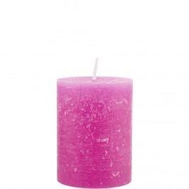 RUSTIC Svíčka 9 cm - růžová