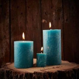 Obrázek RUSTIC Svíčka 9 cm - petrolejová Dekorativní svíčky