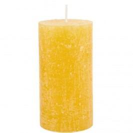 RUSTIC Svíčka 13cm - žlutá