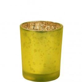 DELIGHT Svícen na čajovou svíčku - zelená