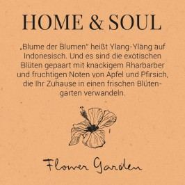 HOME & SOUL Vůně do bytu Flower Garden - 100ml