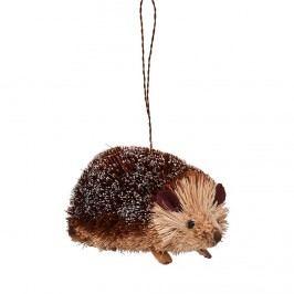 HANG ON Ozdoba ježek běžící