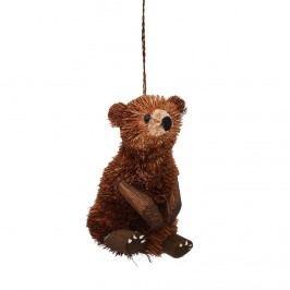 HANG ON Ozdoba hnědý medvěd