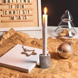ADVENT Adventní svíčka 25 cm