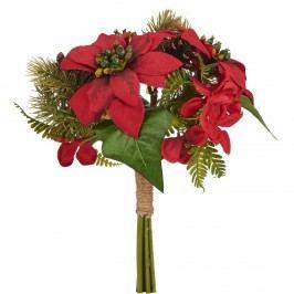 WINTERGREEN Kytice vánoční hvězda - červená Vánoční dekorace