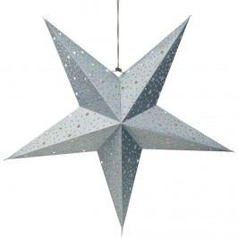 LATERNA MAGICA Dekorační hvězda s hvězdami - modrá